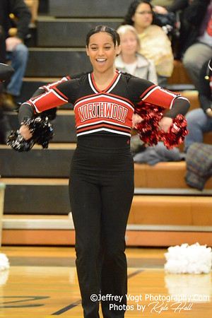 1-30-2016 Northwood HS Varsity Poms at Damascus HS, Photos by Jeffrey Vogt Photography with Kyle Hall