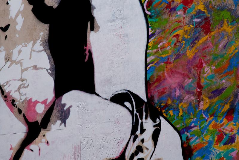 Paris wall art (grafitti?)