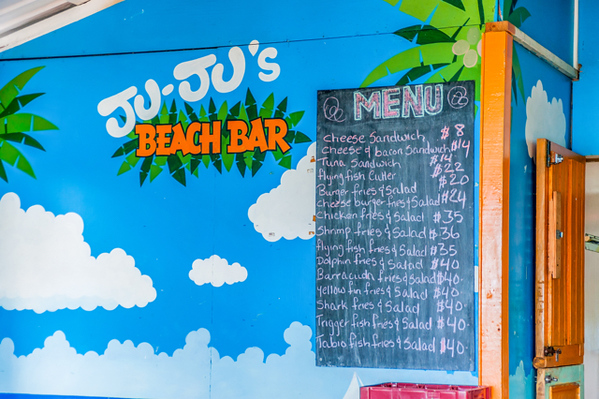Ju Ju's Beach bar