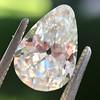 2.61ct Antique Pear Cut Diamond GIA I SI1 1