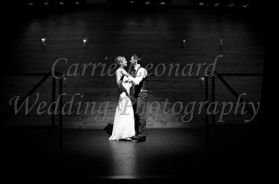 Emily & Mike Wedding black & white