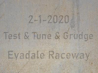2-1-2020 Evadale Raceway 'Test & Tune & Grudge'