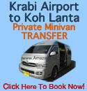 Krabi Airport to Koh lanta Minivan Transfer