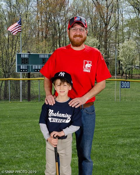 2019 Neshaminy Wildcats Baseball Coach-Player Shots