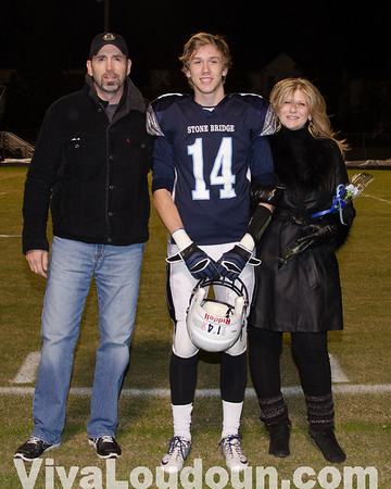 Fairfax @ Stone Bridge Senior Night (Photos by Tom Lighton)
