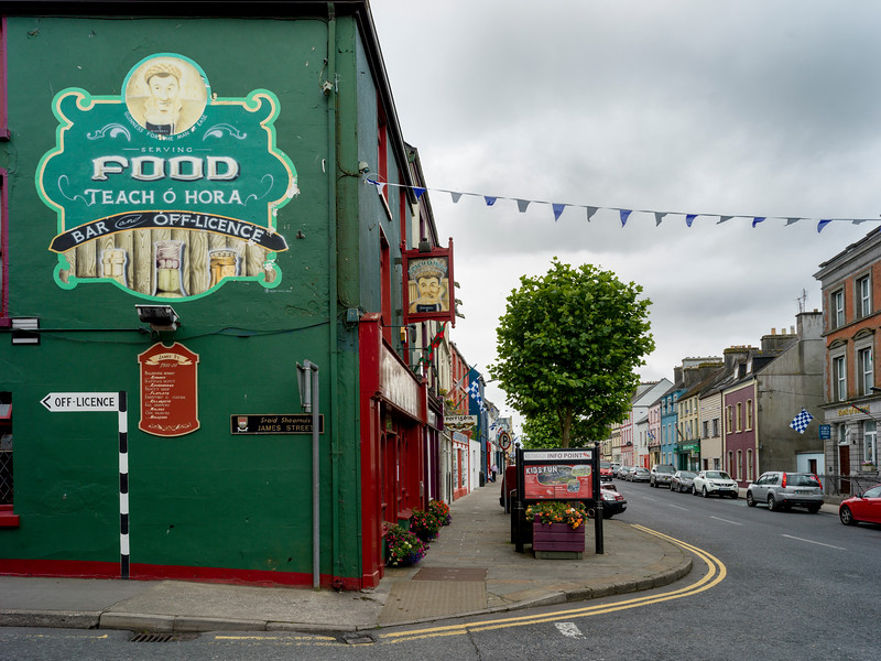 Street scene, Kiltimagh, County Mayo, Republic of Ireland