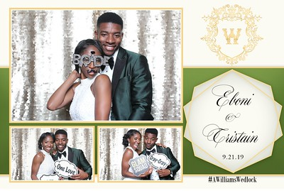 Eboni and Tristain's Wedding 9-21-19