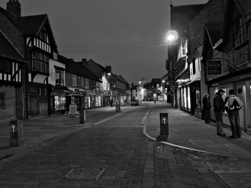 Stratford at night