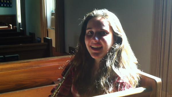 Katie -Fall 2013 Flute Video