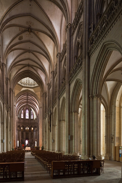 Coutances, Notre-Dame Cathedral  Nave and Choir