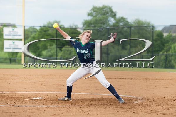 6-5-2018 Blacksburg at Woodgrove Softball (Varsity)