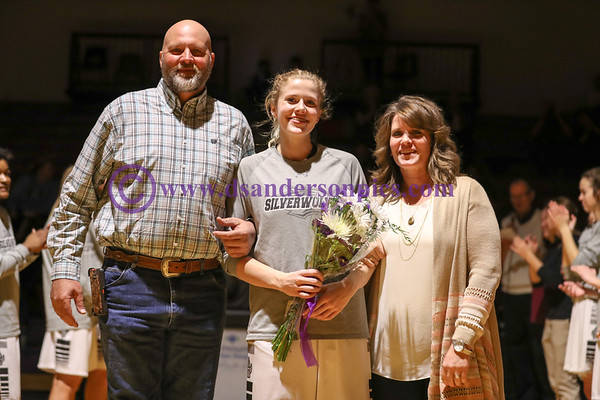 2017 02 16 RHS GIRLS BBALL SENIOR NIGHT
