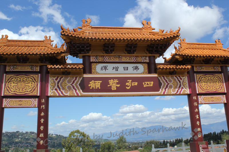Gateway to Hsi Lai Temple