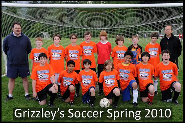 Grizzlies Team Shots 2010