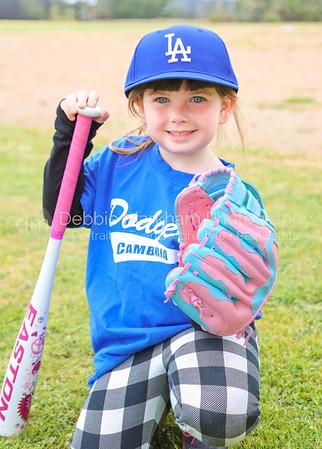 2017 Spring Rec Baseball Teams