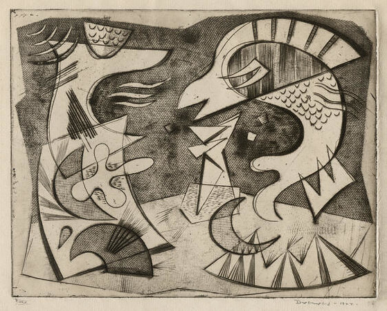 "Werner Drewes, ""Fish Monster"" 1944"