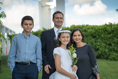 Isabel First Communion