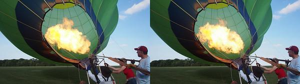 Sunset Balloon Launch