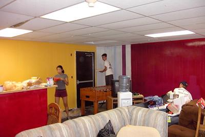 Remodeling Senior High room-Fall 2003