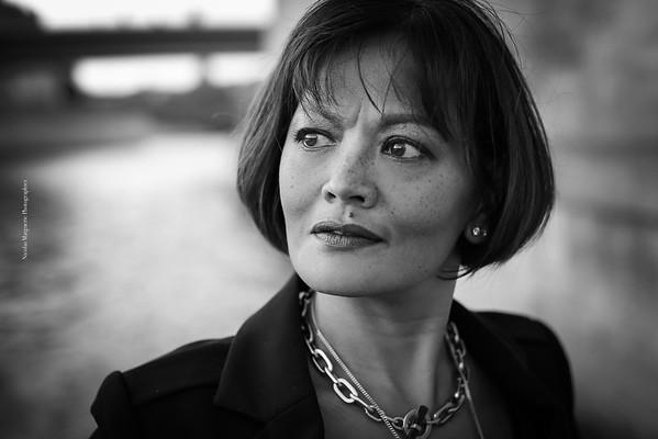 Sylvie T, Ile Saint Louis, Octobre 2016
