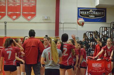 GJV Volleyball vs BR 1-10-20
