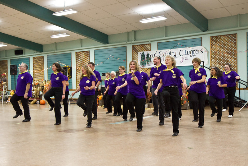 Redwood Country Cloggers performance at Late Harvest Stomp