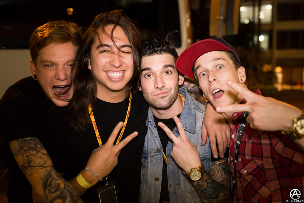 Of Mice & Men and Sleeping With Sirens