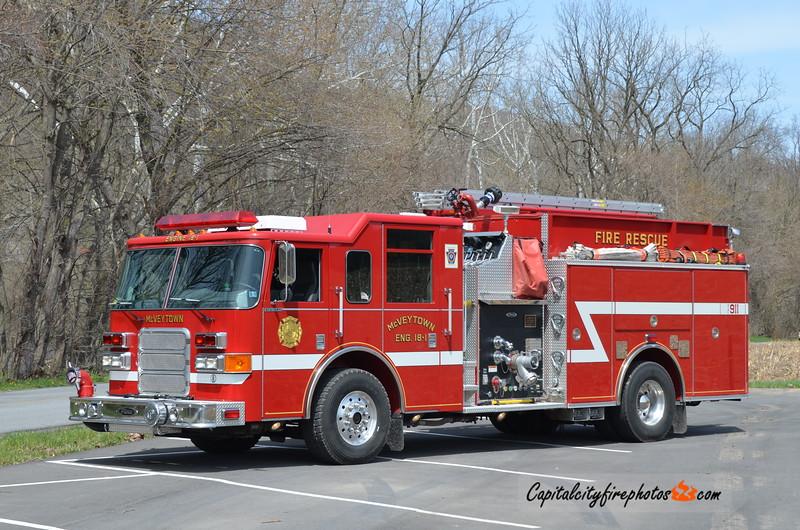 McVeytown Engine 18-1: 2003 Pierce 1750/1000