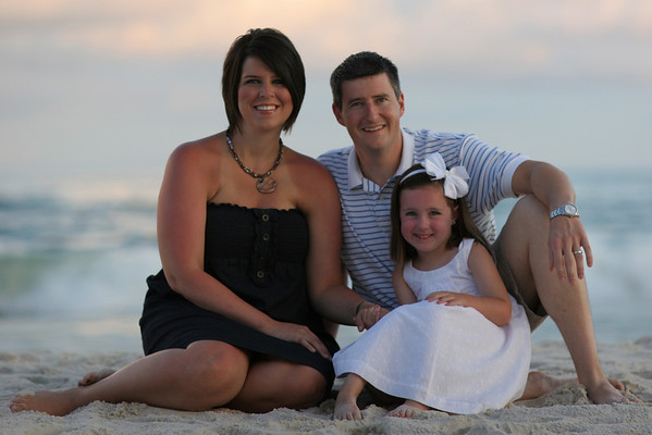 The Lewis Family - Gulf Shores 2010