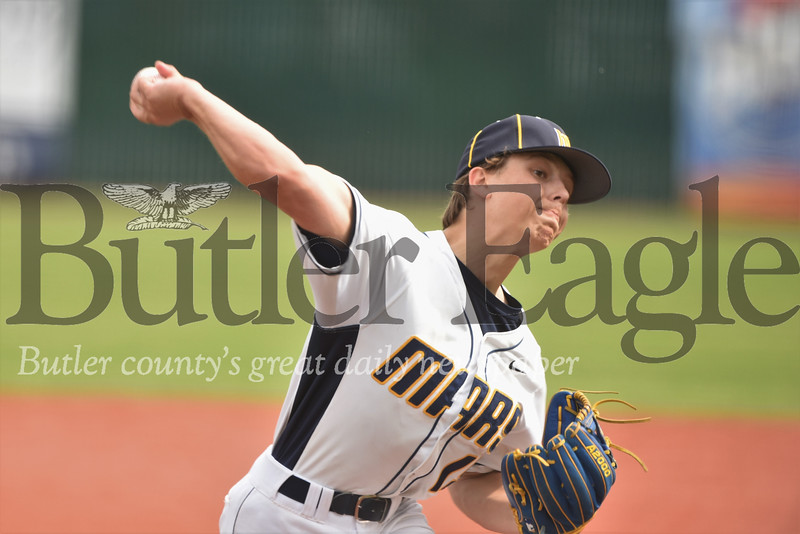 starting pitcher 19 Seb Foltz/Butler Eagle