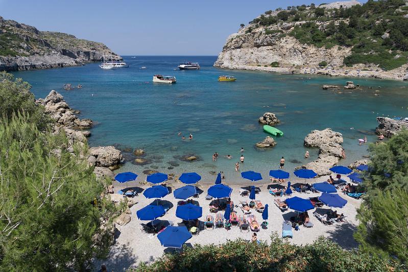 June 2019 - Anthony Quinn Bay, Rhodes, Greece