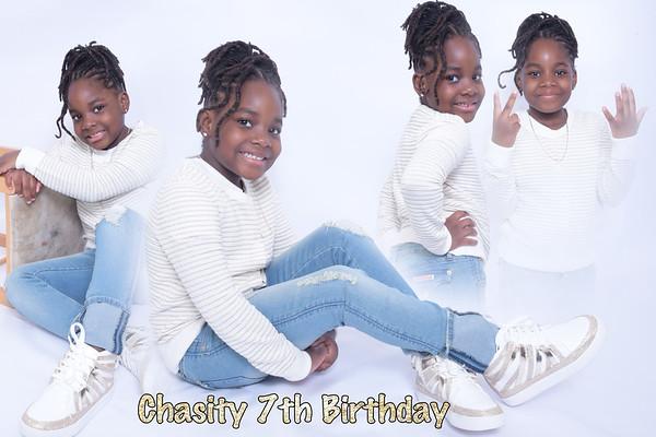 Chasity 7 th Birthday