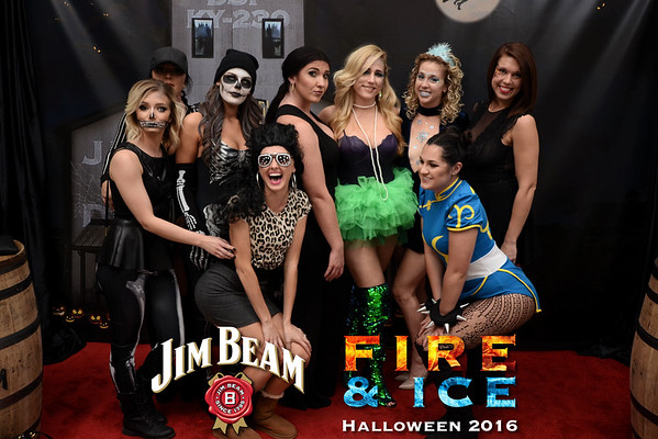 Jim Beam Fire and Ice 2016 Halloween Oct 29
