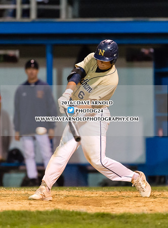 6/9/2016 - MIAA D1 South Semifinal - Varsity Baseball - Needham vs Walpole