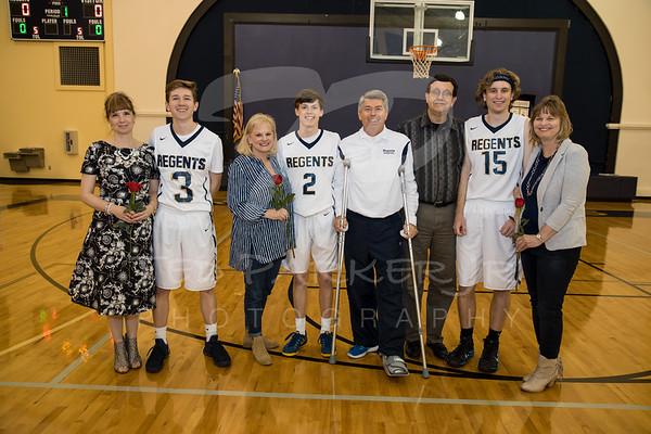 Basketball Seniors 2017