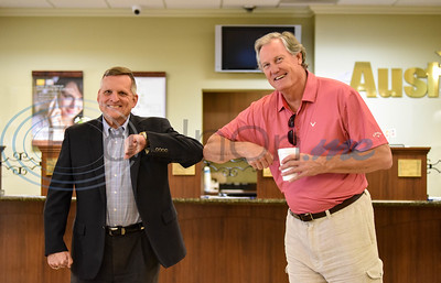 Texas State Representative Travis Clardy Visits Jacksonville Businesses by Jessica Payne