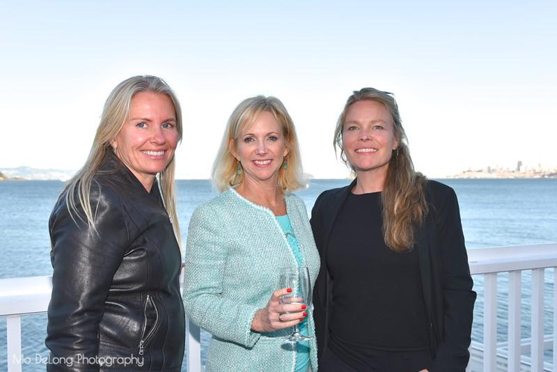 Ive Haugelan, Christine Christiansen and Mette Norgaard