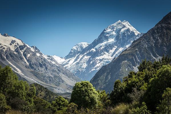 Mt.Cook & Tasman Glacier, NZ Dec'15