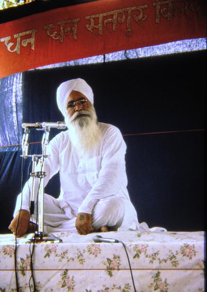 Sant Ji mid 80´s Rajasthan