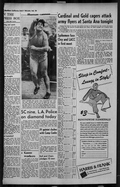 Daily Trojan, Vol. 34, No. 93, February 26, 1943