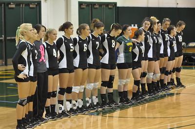Oswego Volleyball 10-27-12