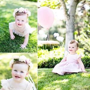 1 year old birthday photographs