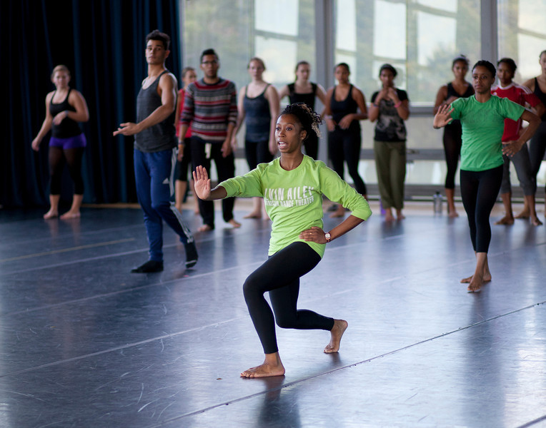 Ailey II Master Class. September 16, 2013. Williams College '62 Center