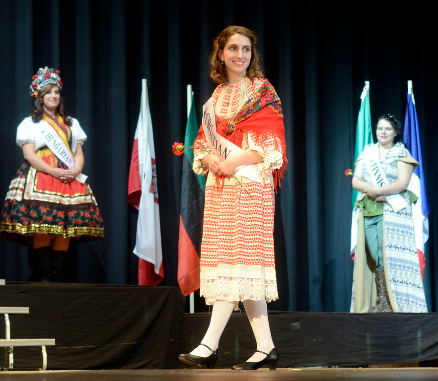 . Maribeth Joeright/MJoeright@News-Herald.com <p> Madeline DiFilippo, Croation Princess, was one of the contestants of the 48th annual Lorain International Princess Pageant, June 26, 2014.