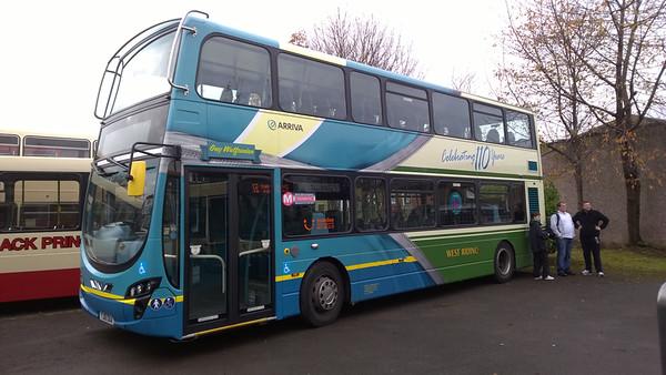 Dewsbury Bus Museum Bus Rally November 16th 2014