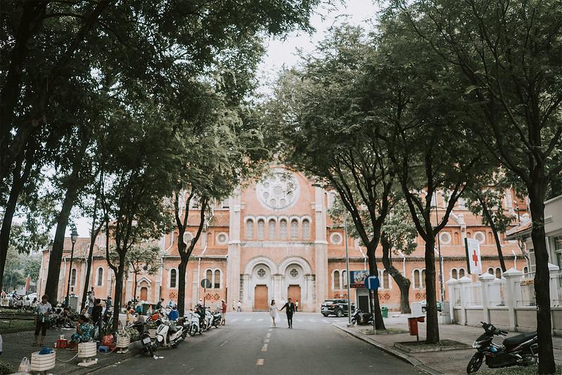 H + V | Intimate Saigon Engagement Shooting | Saigon Wedding Photographer | Tu Nguyen Wedding