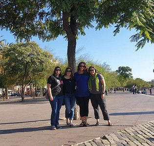 2019.10.21 Spain - camino and Barcelona sisters wknd