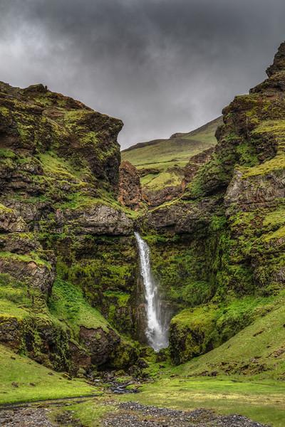 Iceland Waterfall #57  Photography by Wayne Heim