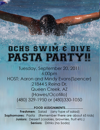 QCHS Swim2011