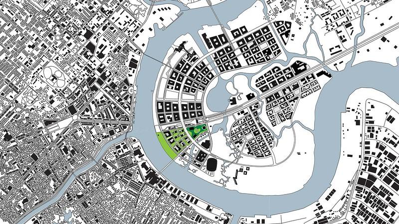 Empire City location map